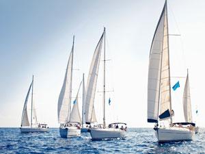 Rhein-Main Sportbootschulen Stockimage 11708696: Sailing Yacht