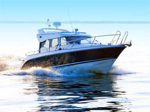 Rhein-Main Sportbootschulen Stockimage 11781884: Powerboat