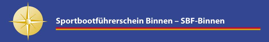 Sportbootführerschein Binnen – SBF-Binnen